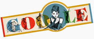 Google Audrey Hepburn's 85th Birthday (Version 2)