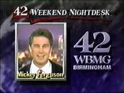 42 Weekend Nightdesk Mickey Fergerson 1990