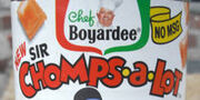 Chef Boyardee Sir Chomps-A-Lot logo