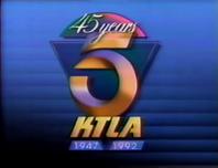KTLA 45 years