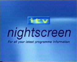 Nightscreen 2003