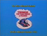 Britt Allcroft 1986 Logo