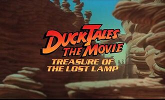 DuckTales the Movie Treasure of the Lost Lamp, in film