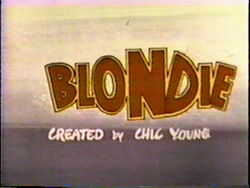 Blondie Title Card