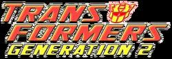 Transformers Generation 2 logo