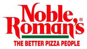 Noble romans pizza logo