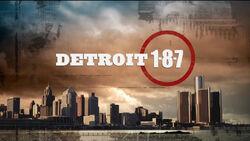 Detroit 187 title card