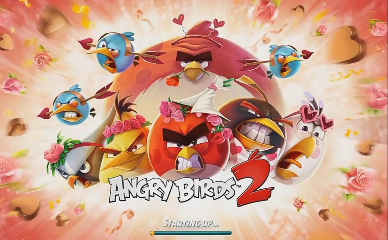 AngryBirds2Valentine'sDay2017LoadingScreen