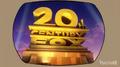 20th Century Fox logo on TV