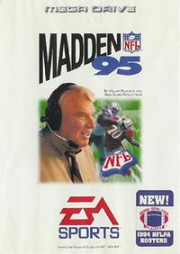 Madden NFL '95 Coverart
