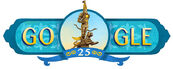 Google 25th Anniversary of Independence Day of Republic of Kazakhstan
