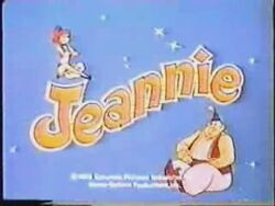 Jeannie tv logo
