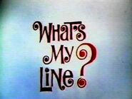 Whats my line-show