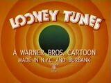 Bugs Bunny Invasion Of The Bunny Snatchers IATSE Credits