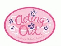 Acting Out Musical Dress Up Logo