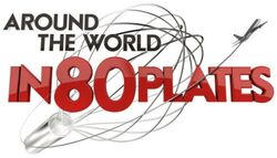 Around the World in 80 Plates logo