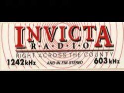 Invicta Radio Sticker