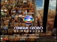 Duas Caras seal short Globo 2008 logo 2008
