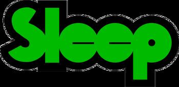 Sleep band logo