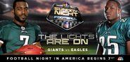 NBC Sports' Sunday Night Football's New York Giants Vs. Philadelphia Eagles Video Promo For Sunday Night, September 30, 2012
