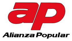 Alianza Popular (logo, 1983-89)