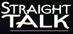 Straight Talk movie logo