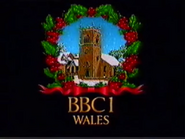 BBC One Wales Christmas 1986 (Daytime) ident