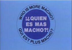Qui es mas Macho