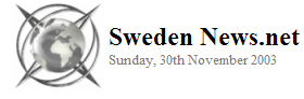 Sweden News.Net 2003