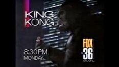 WATL FOX 36 promo for King Kong from September 13th, 1992
