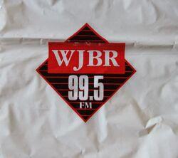 WJBR 99.5 FM logo