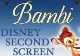 Bambi Disney Second Screen logo
