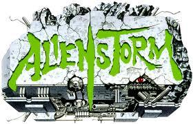 Alien storm logo