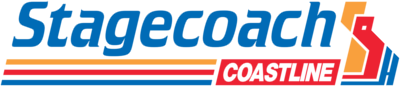 Stagecoach Coastline Buses Stripes logo small