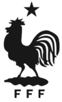 France national football team logo (EURO 2016, monochrome)