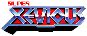 Super xevious logo by ringostarr39-d583195