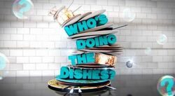 Who's Doing the Dishes title