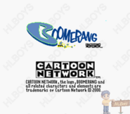 Boomerang and Cartoon Network logos