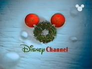 Disney Channel ID - Christmas Wreath (1999)