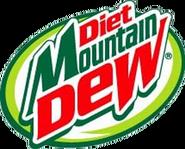 Diet Mountain Dew Tau current logo