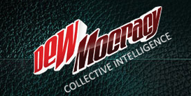 DEWmocracy Cyberslands I logo 2007