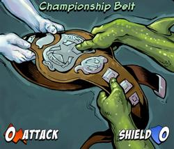 Championship Belt mini