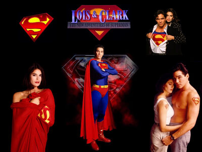 Lois and Clark Home Page Picture