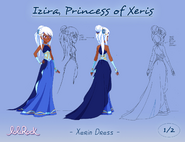 Izira, Princess of Xeris - Xerin Dress - (page 1 of 2)