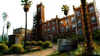 The San Romero High School