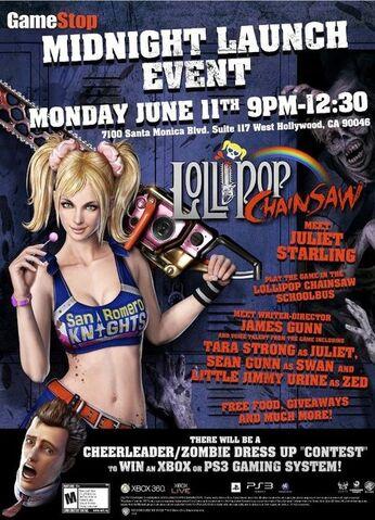 File:Lollipop Chainsaw GameStop Flyer June 11 Midnight Launch Party (USA).jpg