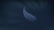 A falling Vikke Ship