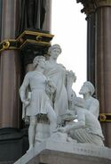 Commerce group (Albert Memorial)
