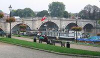 Richmond Bridge and riverside