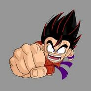 Goku fist